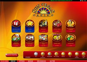 Sun Vegas Casino en ligne