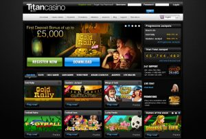 Jeux Titan Casino